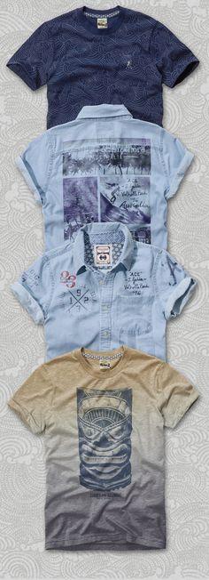 Gold Coast - Menswear Fashion Branding & Graphics