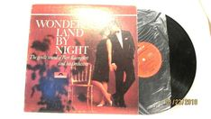 1967 Bert Kaempfert Wonderland By Night Vinyl LP 33 Polydor records SPH 37553  #EasyListening