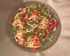 Špagety trochu ináč - Recept