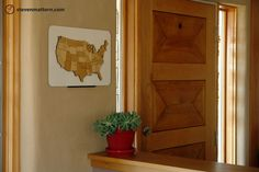 Puzzle Board & Wall Mount - Powder Coated Steel & MDF