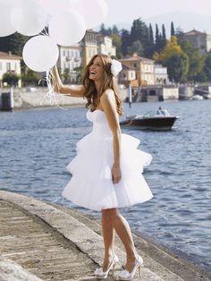 Tess-Vestido de Noiva em tule - dresseshop.pt