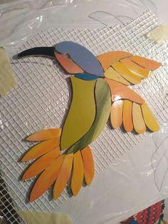 Mosaic Tile Art, Mosaic Birds, Mosaic Flowers, Pebble Mosaic, Mosaic Diy, Mosaic Crafts, Mosaic Glass, Mosaic Ideas, Fused Glass