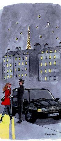 Les chauffeurs privés Uber débarquent à Paris