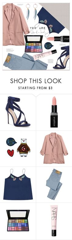 """""""you are one of a kind"""" by mycherryblossom ❤ liked on Polyvore featuring Imagine by Vince Camuto, Smashbox, D&G and NARS Cosmetics"""
