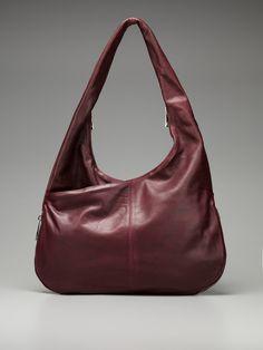 Wine colored purse