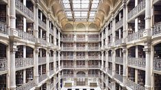 From the beaches of the Eastern Shore to the mountains of Western Maryland, our state is teeming with picturesque spots to visit. Here's our list of Maryland's most beautiful places. Peabody Library, Most Beautiful, Beautiful Places, Multi Story Building, City, Travel, Cheese, Google, Artists