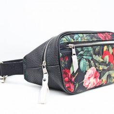 Nerka box! Czerń i kwiaty - Sklep Online Artyferia Fanny Pack, Handmade, Bags, Hip Bag, Handbags, Hand Made, Taschen, Craft, Purse