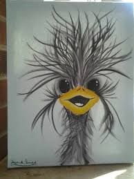 Image result for emu painting colorful