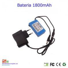 Bateria recargable litio 1.8A