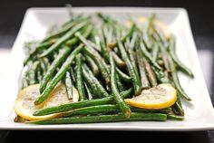Garlic Lemon Green Beans
