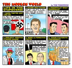 For the TT fan on your holiday gift list: the expanded second edition of 25 Years of Tomorrow , featuring every TMW cartoon from the strip's earliest days through the election of Donald Trump. Elizabeth Warren Pocahontas, Political Satire Cartoons, Social Change, Politics, Shit Happens, Humor, Comics, Funny, Humour