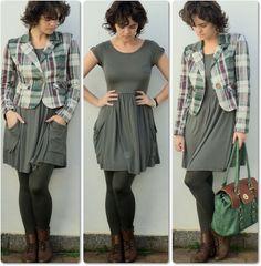 blog vitrine @ugust@ LOOKS | por leila diniz: 3 looks da semana passada em um único post... em comum? Nos 3 há peças de brechó.