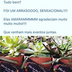 Começar o dia com um email desses é simplesmente um luxo!!!!  #lepetitvert  #lejardin #mudinhas #suculentas #succulents #suculove #succulove #succulent #suculenta #lembrancinhaspersonalizadas #lembrancinha #lembrancinhacommudinha #mudinha #muitoamor #lembrancinhaecologica #lembrancinhaecochic #ecogifts