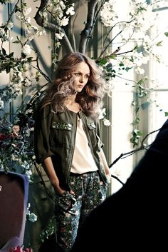 The Style Examiner: Vanessa Paradis for Conscious at H