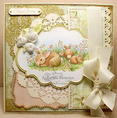 Another elegant card. So pretty