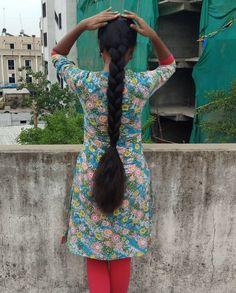 Indian Long Hair Braid, Braids For Long Hair, Indian Hairstyles, Braided Hairstyles, Super Long Hair, Long Hair Styles, Cute, Women, Long Hairstyle