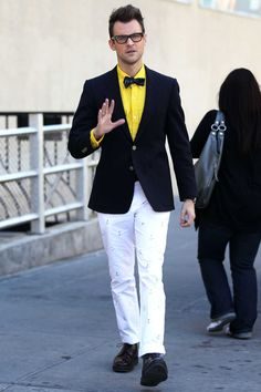Brad Goreski - my favorite male fashionista!