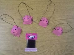 Egg Carton Pig snout noses! Perfect craft for fairy tales!--read the 3 little pigs and make these, this would be so cute!