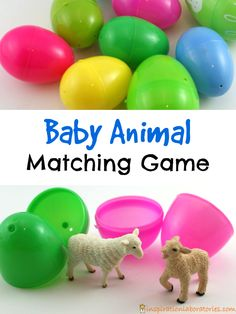 Match the babies with their moms in this fun baby animal matching game. Practice fine motor skills and memory skills and inspire some pretend play.