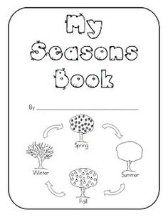 Great resources for young children - seasons booklet, prewriting cards, healthy eating activity, etc
