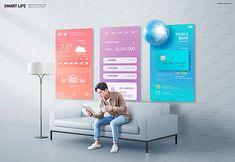 Mobile Advertising, Creative Advertising, Advertising Design, Thumbnail Design, Ad Photography, Korean Design, Travel Ads, Catalog Design, Mobile Design