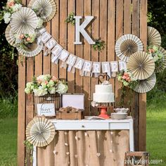 Embellish your way to the wedding of your dreams with ready-to-go accessories and decor. Wedding Dinner, Post Wedding, Diy Wedding, Rustic Wedding, Wedding Ideas, Wedding Photos, Wedding Shower Favors, Wedding Reception Decorations, Table Decorations