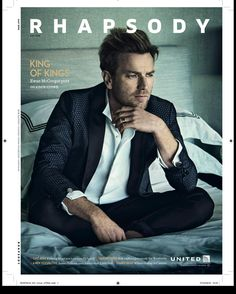 I'm on this mag. (We are called upon to now publicise our own publicity) #EwanMcGregor