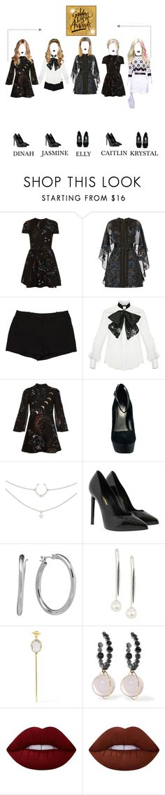"""[Red Carpet] Royal Girls at Golden Disk Award"" by royalgirlsofficial ❤ liked on Polyvore featuring Valentino, Elie Saab, L'Agence, Elisabetta Franchi, Bakers, Yves Saint Laurent, Chaps, Yoko London, Cornelia Webb and Marni"