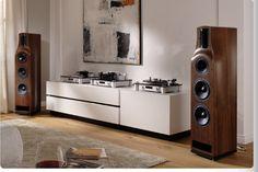 T+A Living Room Audio.