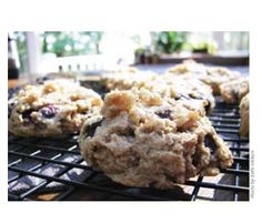 Living Without - Gluten-Free Blueberry Breakfast Cookies - Recipes Article
