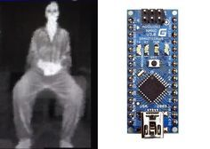 Create Your Very Own Thermal Imaging Camera With An Arduino Nano (Video) - The Arduino Nano thermal Diy Tech, Cool Tech, Cool Electronics, Electronics Projects, Tech Gadgets, Cool Gadgets, Robotics Projects, Thermal Imaging Camera, Arduino Board