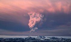 grímsvötn, iceland.