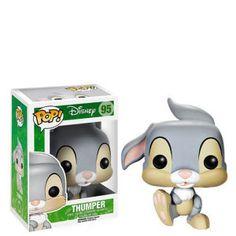 Funko POP Disney: Bambi Thumper Action Figure for sale online Pop Figurine, Figurines Funko Pop, Funko Figures, Vinyl Figures, Funk Pop, Disney Pop, Bambi Disney, Disney Pixar, Disney Gift