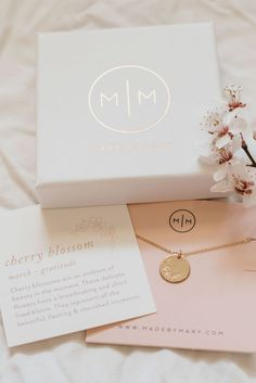 Sweet gifts for anniversaries and special occasions. Handmade by Made by Mary in SLC Necklace Packaging, Jewelry Packaging, Brand Packaging, Packaging Design, Valentines Gifts For Her, Christmas Gifts For Her, Gifts For Mom, Made By Mary, Jewelry Logo