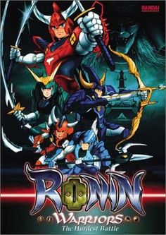 Ronin Warriors - a Japanese anime series based on the manga series created by Hajime Yatate. The anime was produced and animated by Sunrise, and aired across Japan on Nagoya Television from April 30, 1988 to March 4, 1989 and has a total of 39 episodes. Ronin Warriors was produced by Graz Entertainment & distributed by Cinar (of Canada). first aired on American television during the summer of 1995 & subsequently appeared through syndication.