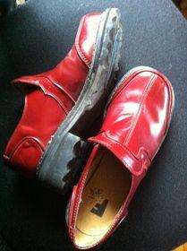 W6 F-Shoes Nancy in Red! $80