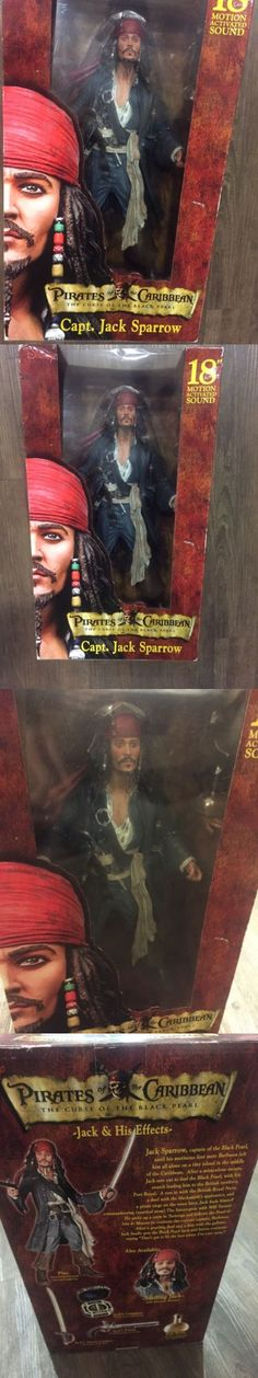 Pirates of the Caribbean 142334: Pirates Of The Caribbean Jack Sparrow Talking Action Figure -> BUY IT NOW ONLY: $125 on eBay!