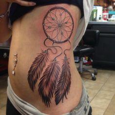 10 dreamcatcher tattoo ideas for girls.  #tattoos #tattooideas #dreamcatcher #tattooswag