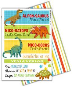 Mil y un papeles: Dinosaurios