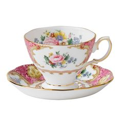 Royal Albert Lady Carlyle Coffee Saucer <3 <3 <3 <3