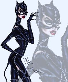 #Catwoman by Hayden Williams #DCComics #DC #SuperVillain #Batman