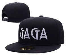 ZZZB Lady Gaga Will Star In American Horror Story Logo Adjustable Snapback Embroidery Hats Caps