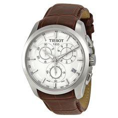 Tissot Couturier Silver Dial Chronograph Men's Watch T0356171603100 (W-T0356171603100)
