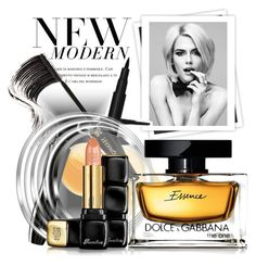 """""""new essence"""" by vicuka ❤ liked on Polyvore featuring beauty, GALA, Lancôme, Dolce&Gabbana and Guerlain"""