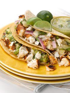 Baja Halibut Tacos