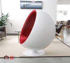 Fiberglass Eero Aarnio Ball Chair, Egg Pod Chair, Ikea Fiberglass Egg Chair  Ikea Ball Amazing Ideas