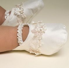 Christening Baby Boots