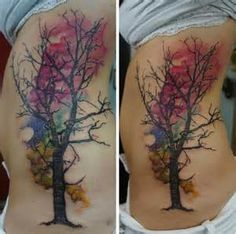Water Color Tree Tattoos - - Yahoo Image Search Results