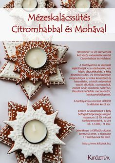 Moha Konyha: mézeskalács Biscotti, Cookie Bars, Hungary, Cookie Decorating, Christmas Cookies, Advent, Gingerbread, Icing, Food And Drink