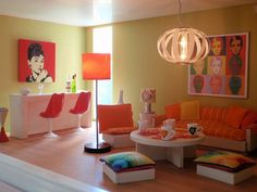 Retro room by pubdoll, via Flickr